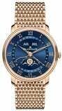 Blancpain Villeret Quantième Complete Calendar Blue Dial on Bracelet