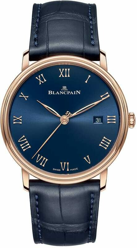 Blancpain Villeret Ultraplate Blue Dial