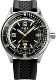 Ball Engineer Master II Diver Worldtime 42mm Black Dial on Rubber Strap