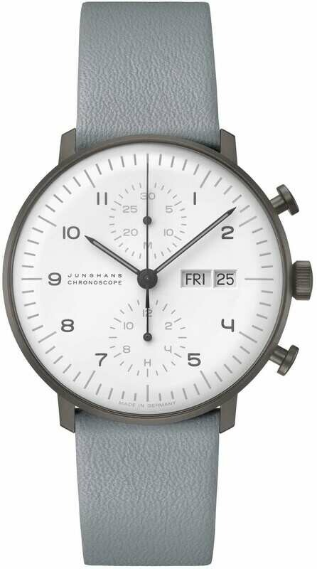 Junghans Max Bill Chronoscope White