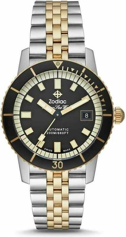 Zodiac Super Sea Wolf Automatic Stainless Steel ZO9271