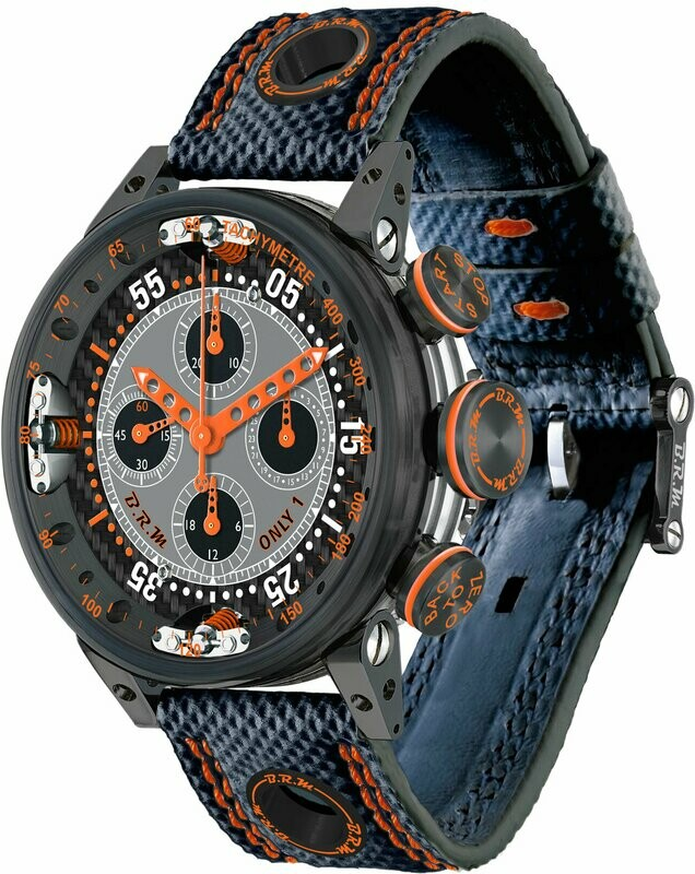 BRM Chronograph Quantieme Perpetual Orange