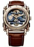 Manufacture Royale Androgyne Royale Bespoke Light Blue Rose Gold
