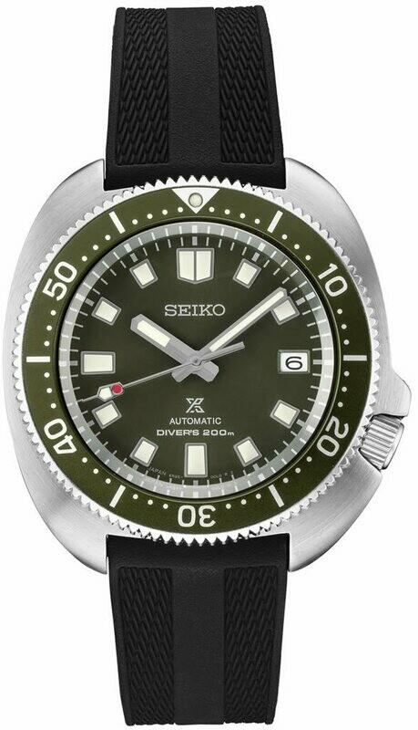 Seiko Prospex 'Captain Willard' SPB153 Green Dial