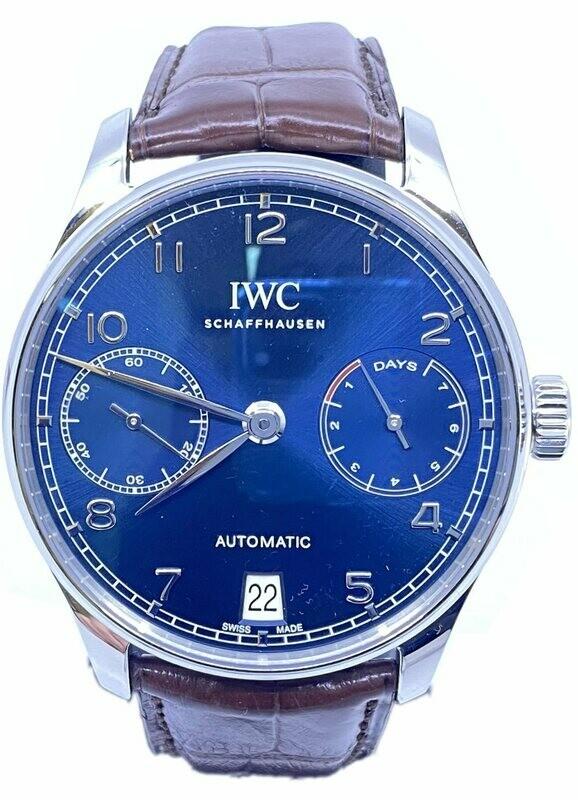 IWC Portugieser IW500710 Blue Dial