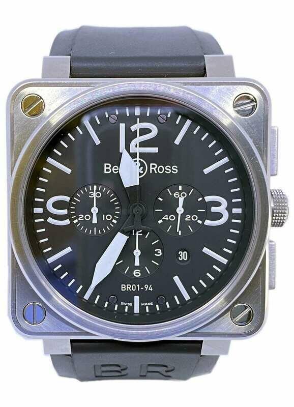 Bell & Ross 01-94 Steel
