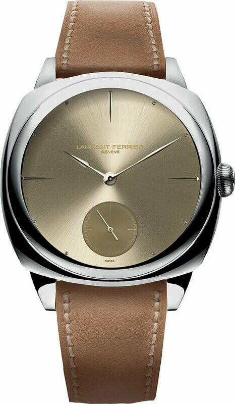 Laurent Ferrier Square Micro Rotor Sunburst Gold Toned Dial