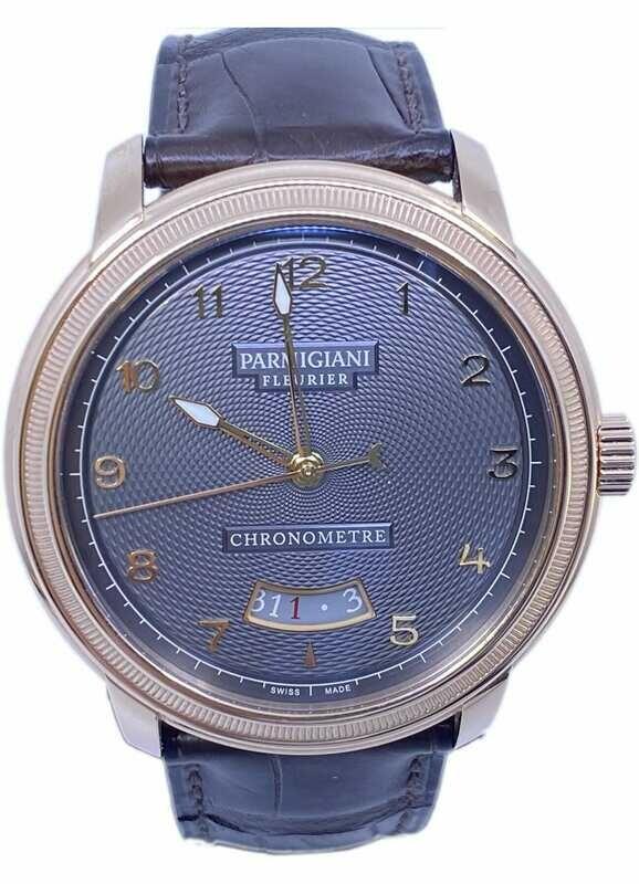 Parmigiani Fleurier Toric Chronometre Slate Guilloche Dial Limited Edition