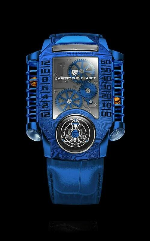 Christophe Claret X-Tream-1 Blue