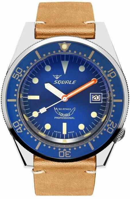 Squale 1521 Ocean Blue