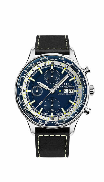 Ball Engineer II Navigator World Time Chronograph CM3388D-L-BE