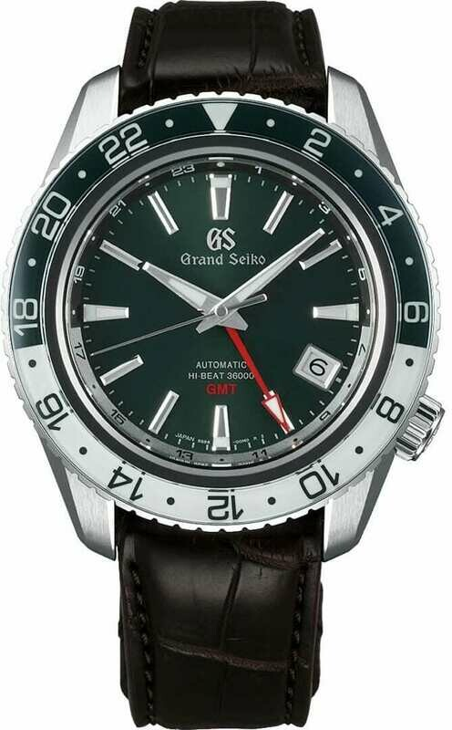Grand Seiko Sport SBGJ239 Hi-Beat GMT Green and White