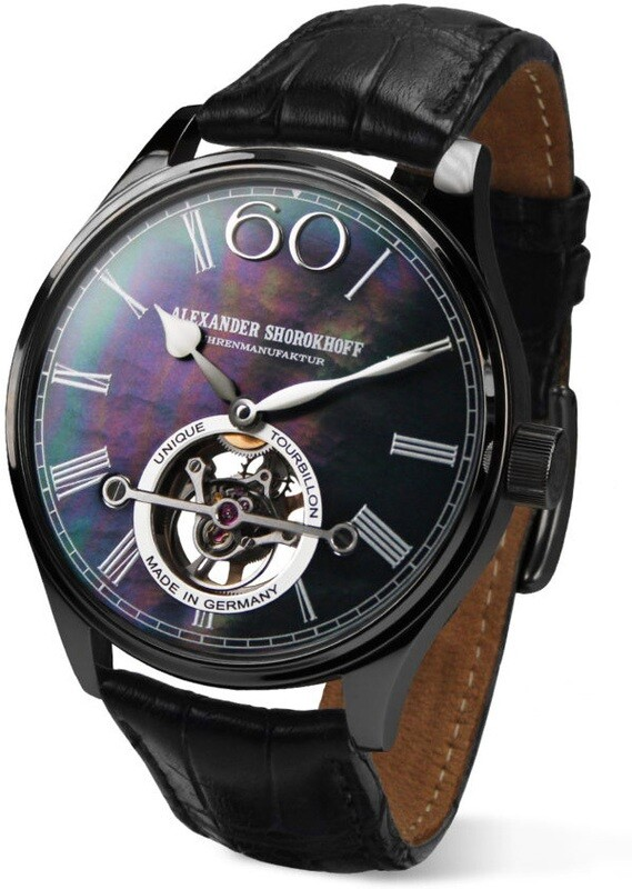 Alexander Shorokhoff Tourbillon Black