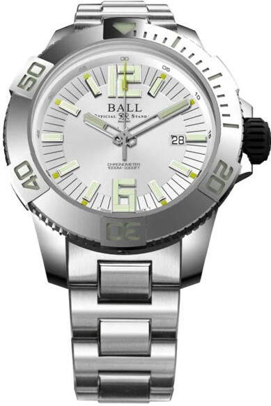 Ball Engineer Hydrocarbon DeepQUEST White Dial on Bracelet