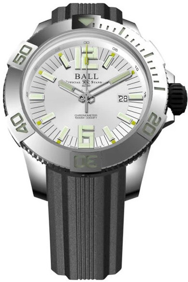 Ball Engineer Hydrocarbon DeepQUEST White Dial on Strap