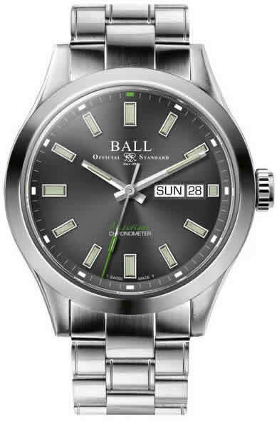 Ball Engineer III Endurance 1917 Classic Limited Edition Gray Dial on Bracelet