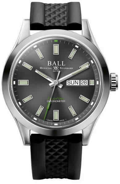 Ball Engineer III Endurance 1917 Classic Limited Edition Gray Dial on Strap