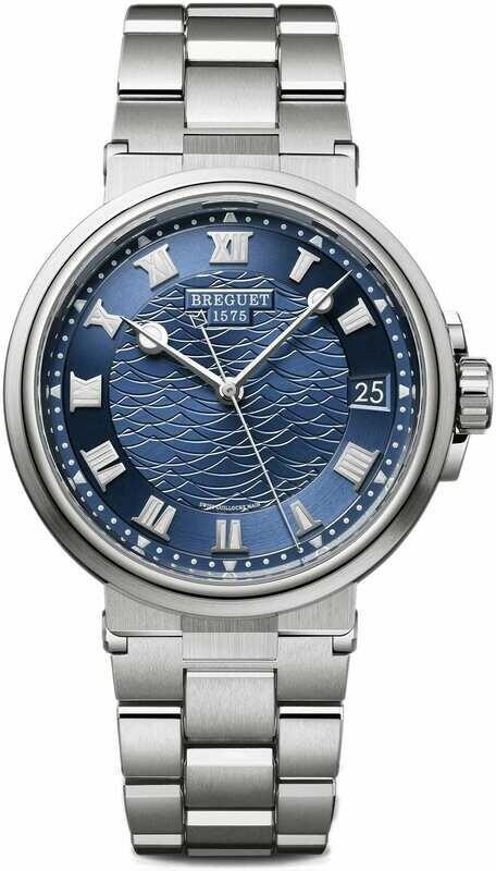 Breguet Marine 5517BB/Y2/BZ0 Blue Dial on Bracelet