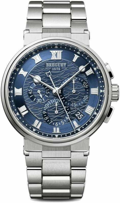 Breguet Marine Chronograph 5527BB/Y2/BW0