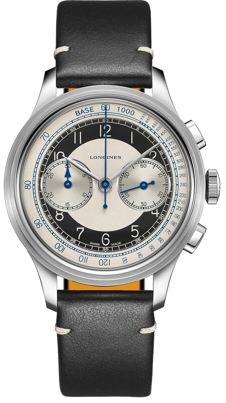 Longines Heritage Classic Chronograph With 'Tuxedo' Dial