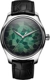 H Moser & Cie. Endeavour Center Seconds Mosaic Green