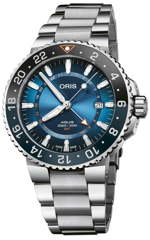 Oris Aquis Carysfort Reef Limited Edition on Bracelet