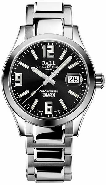 Ball Engineer III Pioneer Black Dial NM2026C-S15CJ-BK