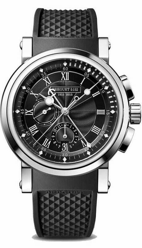 Breguet Marine Chronograph Platinum 5823PT/H2/5ZU