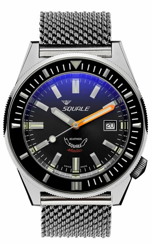 Squale Matic on Bracelet