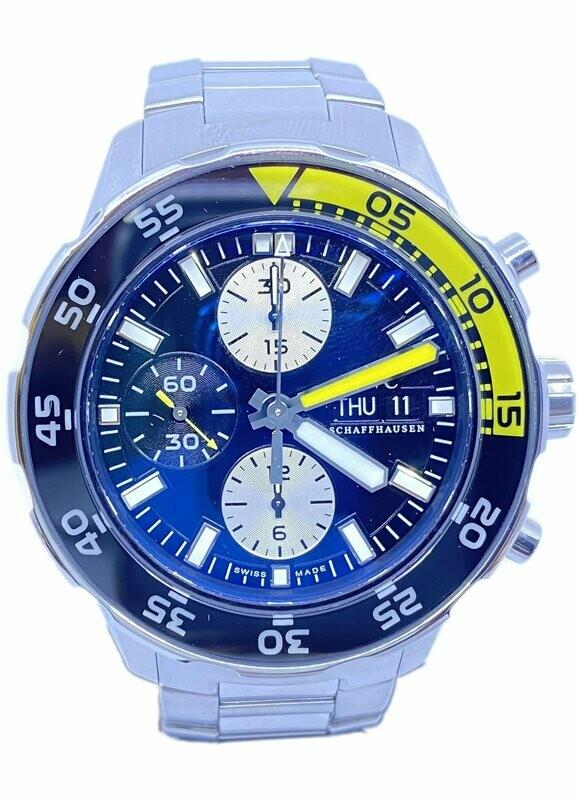 IWC Aquatimer IW376701 on Bracelet