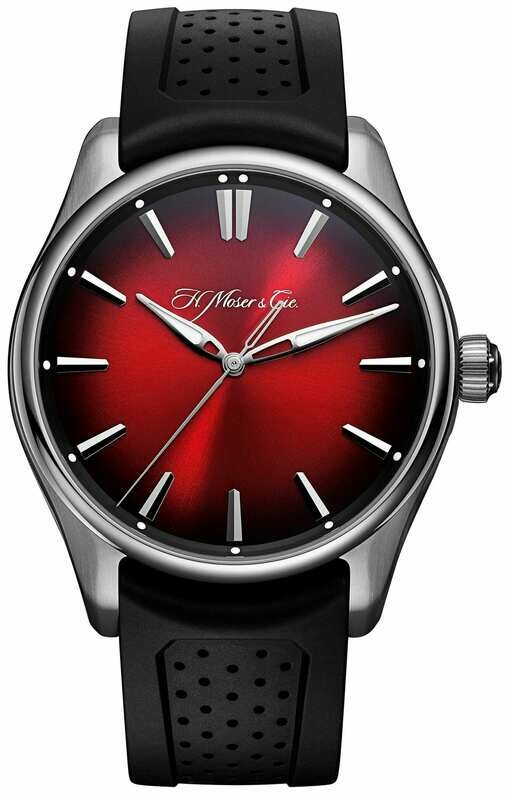 H. Moser & Cie. Centre Seconds Swiss Mad Red