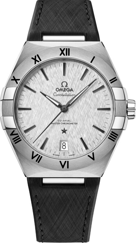 Omega Constellation Co-Axial Master Chronometer Steel White Dial on Strap