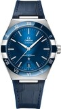 Omega Constellation Co-Axial Master Chronometer Steel Blue Dial on Strap
