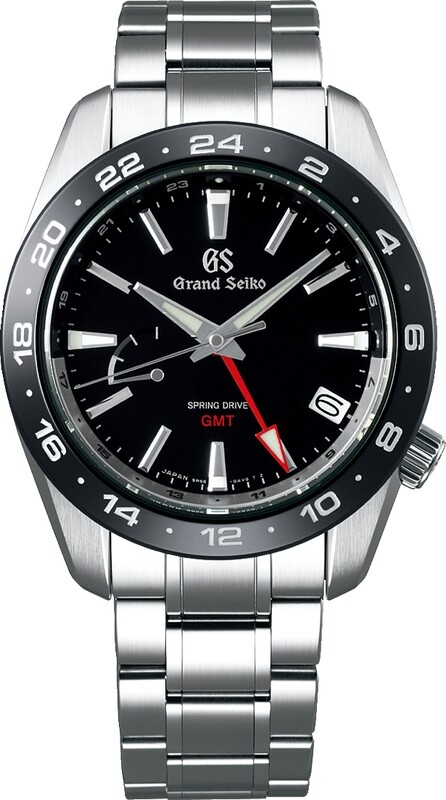 Grand Seiko SBGE253 Sport GMT Spring Drive Black Dial