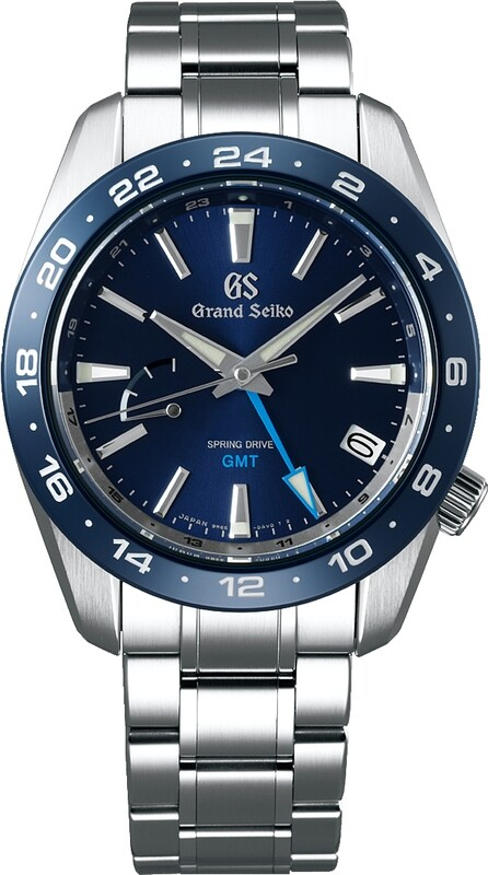 Grand Seiko SBGE255 Sport GMT Spring Drive Blue Dial