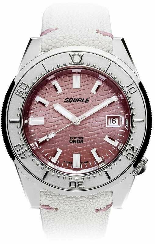 Squale 1521 Onda Pink
