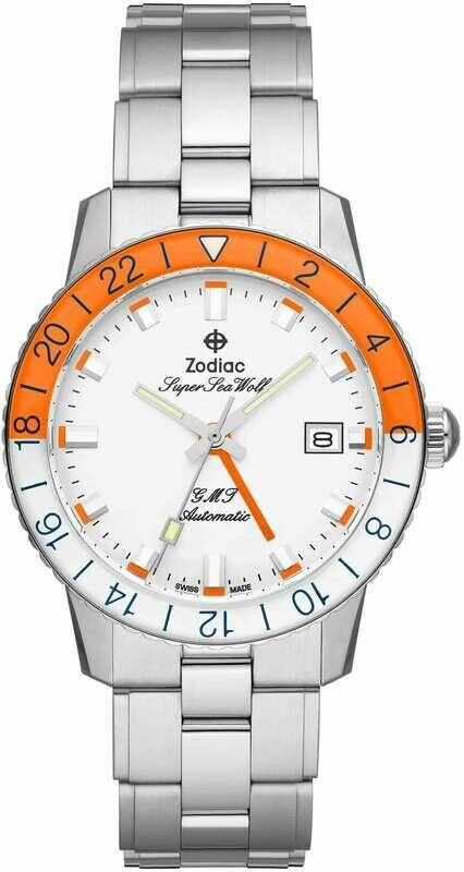 Zodiac Super Sea Wolf GMT ZO9403