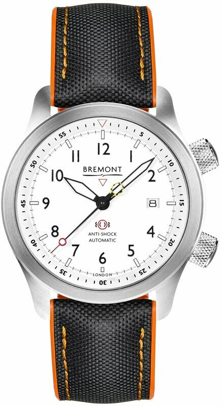 Bremont Martin Baker White Orange MBII-WH/ORANGE