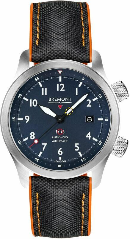 Bremont Martin Baker Blue Orange MBII-BL/ORANGE