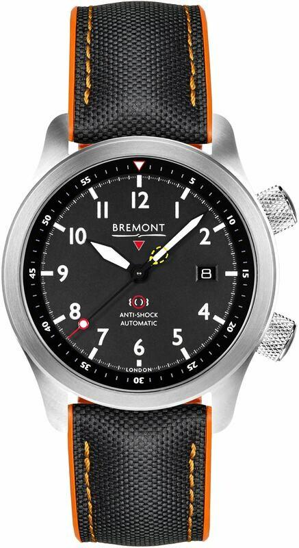 Bremont Martin Baker Black Orange MBII-BK/ORANGE