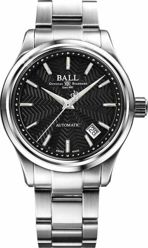 Ball Trainmaster Streamliner Black Dial