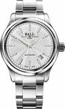 Ball Trainmaster Streamliner Silver Dial