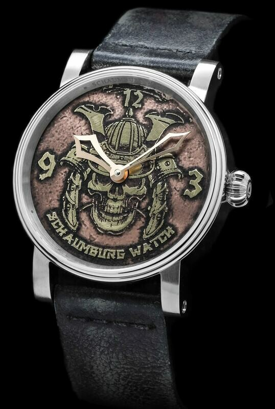 Schaumburg Watch Samurai