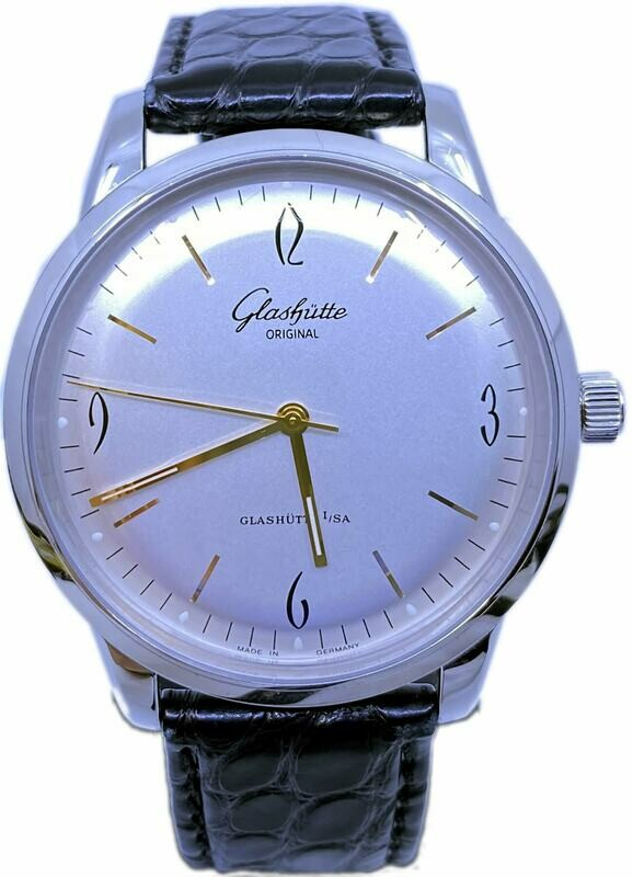 Glashütte Original Senator Sixties Stainless Steel Silver Dial 39-52-01-02-04