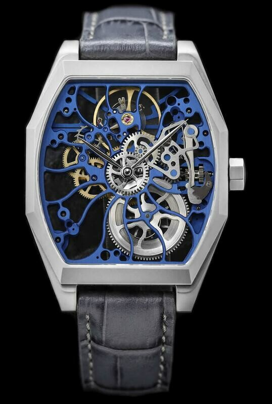 Schaumburg Watch Steel Flower