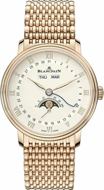 Blancpain Villeret Quantieme Complete Calendar 6264 3642 MMB