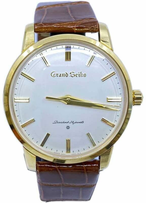 Grand Seiko SBGW252 Yellow Gold