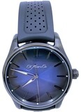 H. Moser & Cie. Pioneer Centre Seconds Funky Blue Black Edition 3200-1205