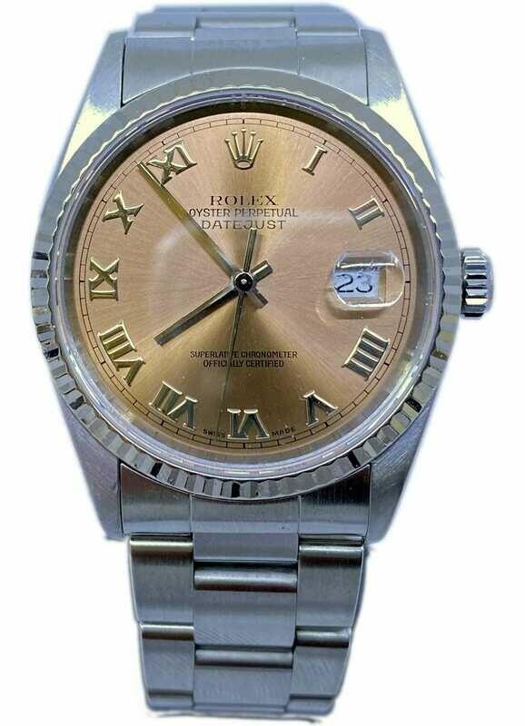 Rolex Datejust Copper Dial 16234