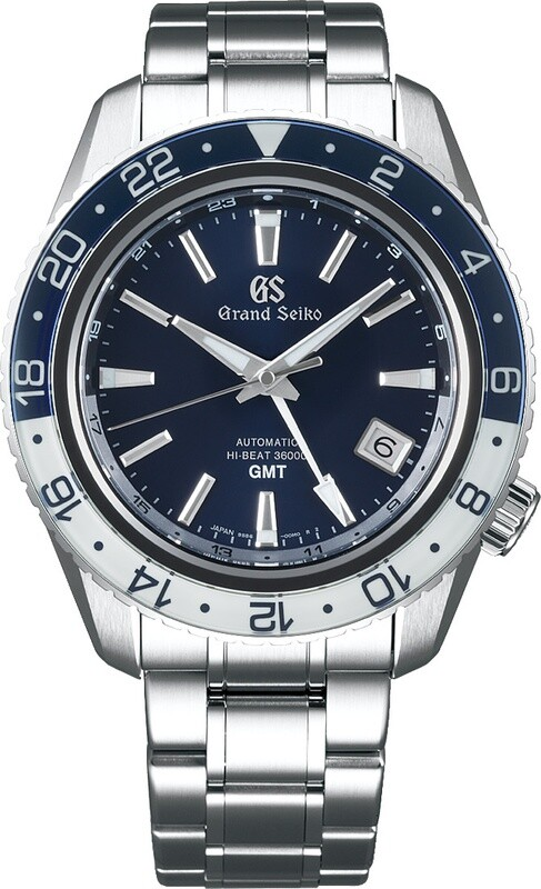 Grand Seiko SBGJ237 Sport GMT Hi-Beat Blue and White
